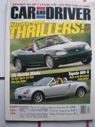 mazda car and driver car and driver magazine december 1997 chevrolet camaro z28 mazda