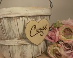 Shabby Chic Wedding Guest Book by Rustic Guestbook Wedding Guest Book Drop Box Wooden Guest