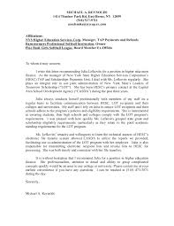 recommendation letter for employment example employee