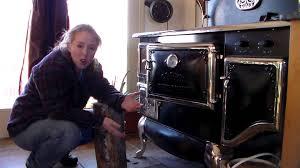 wood stove all night burn youtube