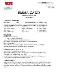 resume u2014 emma cadd