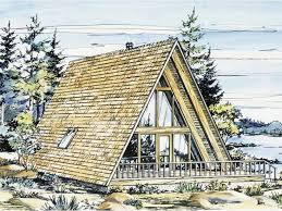free a frame house plans 3 bedroom 2 bath a frame house plans