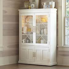 The White China Barn Lane Lisbon White China Cabinet