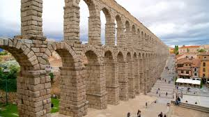 historical pictures view images of segovia aqueduct