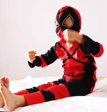 Deadpool Halloween Costume Kid Wholesale 3 7 Boy Role Playing Cosplay Halloween