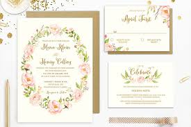 wedding invitation sets 15 pretty floral wedding invitation sets that make you want to