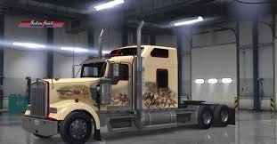 2018 kenworth w900 kenworth w900 indian spirit custom skin mod american truck