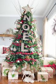 christmas country christmas tree decorations ideas for