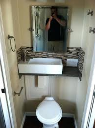 space saver sink and toilet tiny corner sink bathroom idea sink over toilet for space saving sq