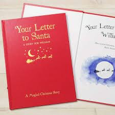 your letter to santa personalised book classic hardback i just