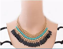 collar necklace images Bohemian rhinestone collar necklace jpg