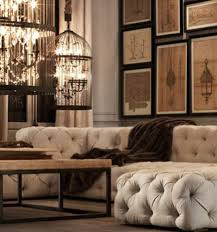 Beige Tufted Sofa by Tufted Modern Sofas