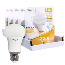 whirlpool led 60 watt replacement dimmable a19 general household