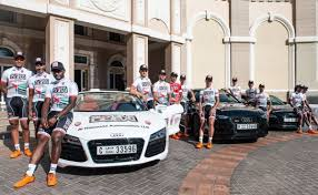 audi cycling team skydive dubai pro cycling team unveils kit with partner audi