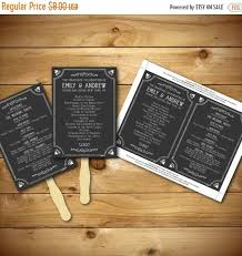 chalkboard wedding program template 34 best wedding program templates images on wedding