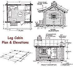 cabin blue prints small log cabin blueprints home design