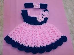 baby girl crochet handmade in usa crochet baby girl dress headband 0 3 by rocky