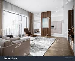 contemporary living rooms modern urban contemporary living room hotel stock illustration