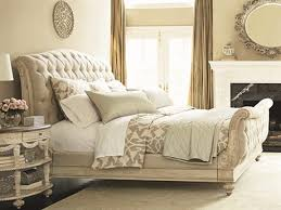 Fabric Sleigh Bed Sleigh Beds Luxedecor