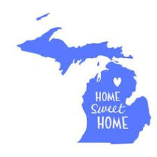Home Design Store Michigan Thankful For My Michigan Roots Cut File In Svg Eps Dxf Jpeg