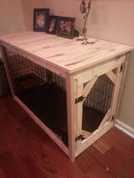 Diy End Table Dog Crate by Diy Dog Crate Hack Dog Crate Crates And Dog
