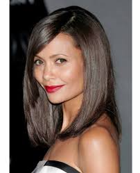 bob haircut with long bangs popular long hairstyle idea