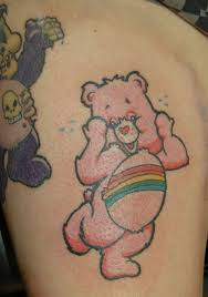 memorable teddy bear tattoo design in 2017 real photo pictures