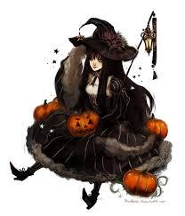 pumpkin witch by ariuemi on deviantart