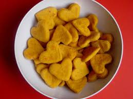heart shaped crackers healthy s treats 18 fresh food ideas for the school party