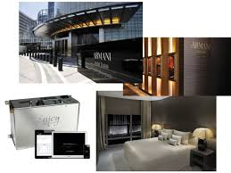 Armani Dubai by Our Scent Marketing U0026 Olfactive Branding Project For Armani Hotel