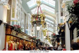 Christmas Decorations Shops In London by Piccadilly Arcade London Christmas Decorations Stock Photos