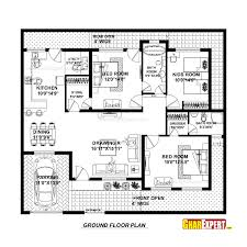 250 Square Foot Apartment Floor Plan by House Plan For 50 Feet By 45 Feet Plot Plot Size 250 Square Yards