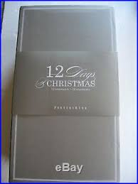pottery barn 12 days of ornaments 2016 set of 12