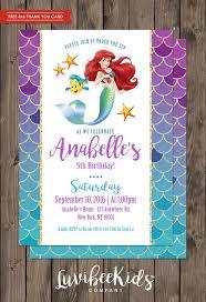 25 mermaid invitations ideas mermaid
