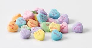 sweetheart candy sayings sweethearts