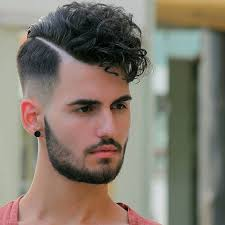 curly hair combover men s hairstyles low fade haircut curly 2017 for men with line