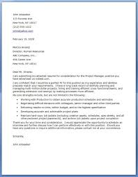 bunch ideas of sample cover letter for telecom project manager for