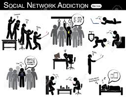 Home Design Social Network by Social Network Addiction A Man Use Smartphone Every Time
