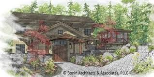 asian influenced house plans home design and style