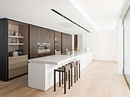 White Marble Kitchen by Kitchen Style Contemporary Kitchen Design Dark Brown Matte