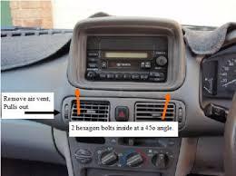 toyota car stereo how do i remove an original car radio from a 1999 toyota corolla seca