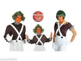 oompa loompa costume factory worker umpa lumpa oompa loompa costume mens womens boys