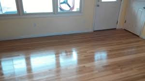 Diy Hardwood Floor Refinishing Hardwood Floor Sanding 1st Coat Of Polyurethane Youtube