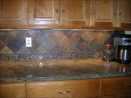 kitchen backsplash for white countertops slate backsplash home