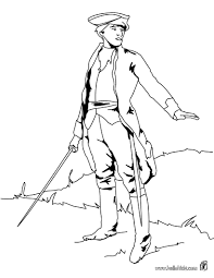soldier with sword coloring pages hellokids com
