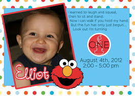 design free baby boy 1st birthday invitation card template with