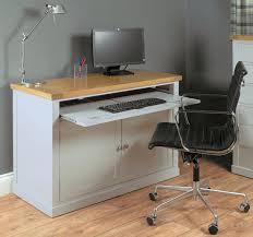 Solid Computer Desk by Atlas Oak Hidden Home Office Atlas Oak Hidden Home Office Desk T