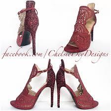 burgundy wedding shoes burgundy high heels glitter heels maroon shoes