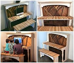 Unique Computer Desks This Old Piano Has Been Upcycled Into A Fantastic Unique Computer