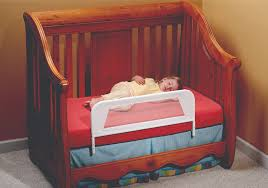 Crib Converts To Bed Convertible Crib Mesh Bed Rail Telescopic